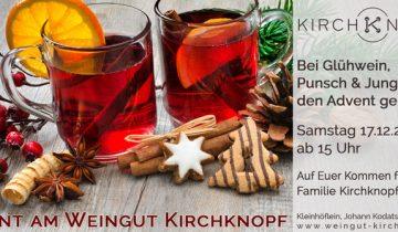 Advent am Weingut Kirchknopf